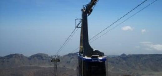 De kabellift van de Teide