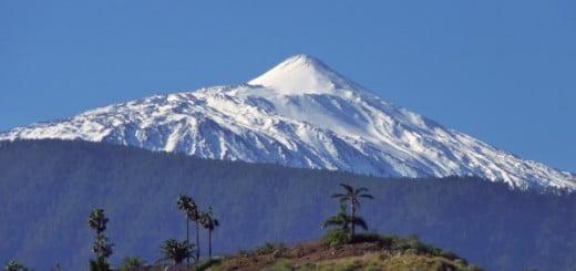 Sneeuw op El Teide