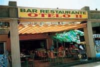 Restaurant Otelo 2, aan de wandelpromenade van Playa de Fañabé