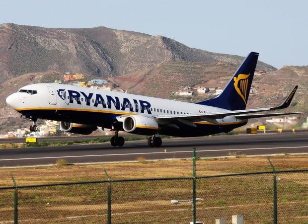 Ryanair vliegt vanaf Eindhoven - Tenerife Vakantie