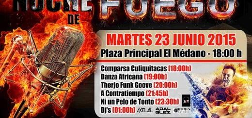 San Juan Zomerfeest El Médano 2015