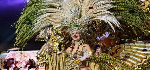Reina Carnaval Santa Cruz 2016