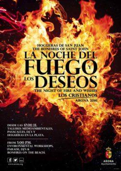 La Noche del Fuego Los Cristianos