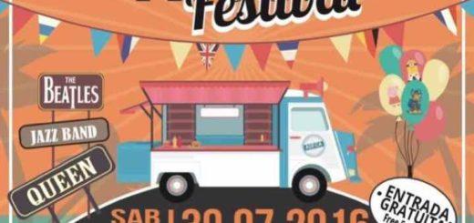 Affiche Food Truck Festival Los Cristianos