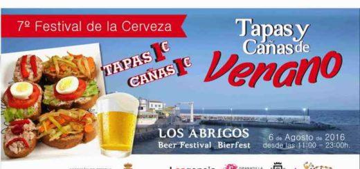 Tapas en Cañas in Los Abrigos affiche