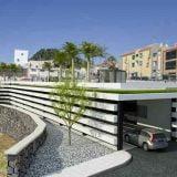 Adeje nieuwe parking aan de Casa Fuerte