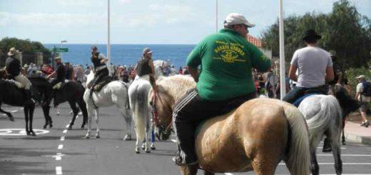 Fiesta San Sebastian 2017 met paardenshow