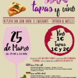 Noche de Tapas y Vinos in Playa San Juan