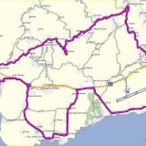 Fietsroute 60 km