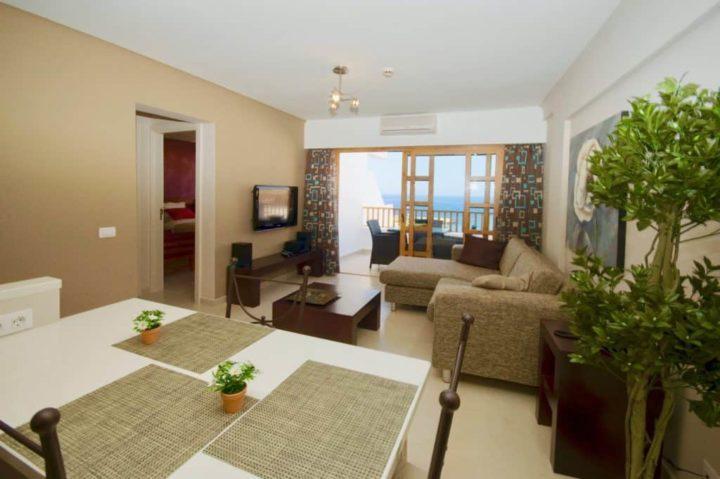 Te koop 1-slaapkamer appartement Tenerife met adembenemend zeezicht