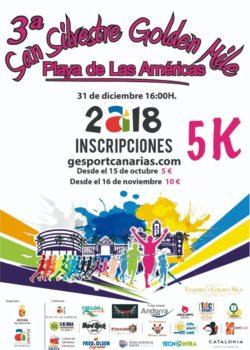 San Silvestre Golden Mile 2018 Playa de las Américas
