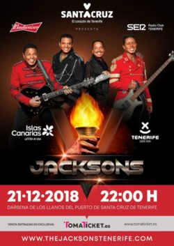 The Jacksons in Tenerife