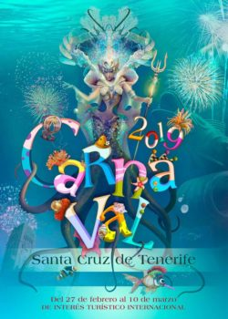 Carnaval Santa Cruz 2019 affiche