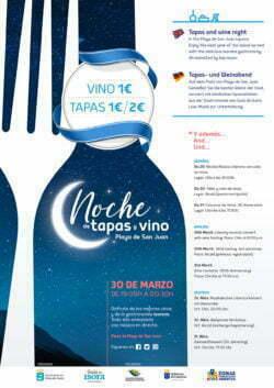 Noche de Tapas y Vinos affiche