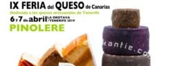Feria del Queso de Canarias in Pinolere (affiche)