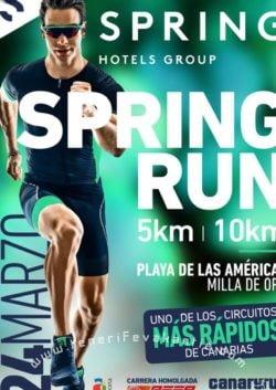 Spring Run Playa de las Américas affiche