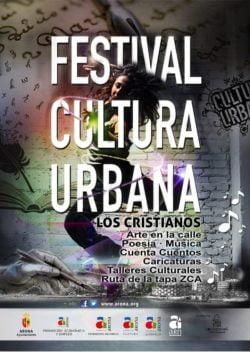 Festival Cultura Urbana Los Cristianos affiche