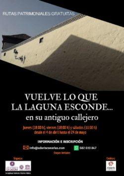 Wandelen door het historische La Laguna affiche