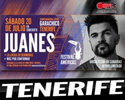 Juanes komt naar Garachico