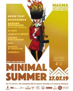 Minimal Summer 2019 affiche