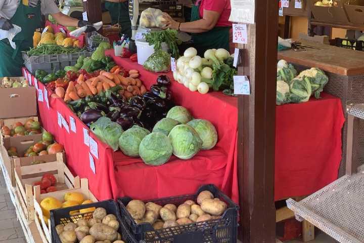 Boerenmarkt Tegueste - verse groenten en fruit