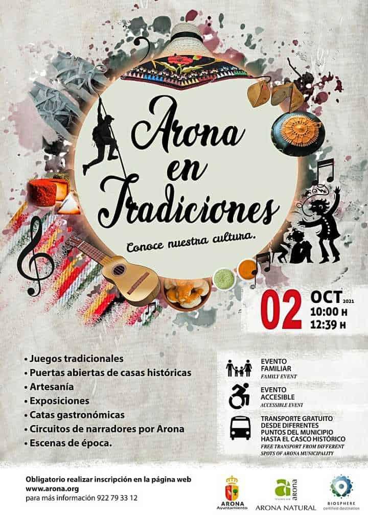 Arona en Tradiciones 2021 - affiche
