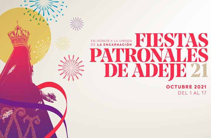 Fiestas ADeje 2021 - affiche